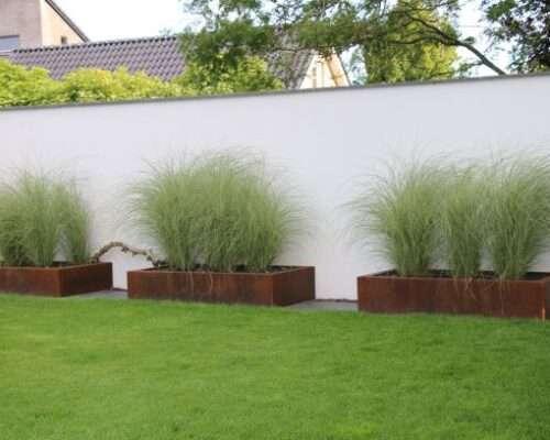 Contrasten in de tuin Groesbeek