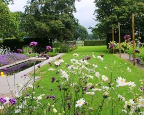 verbinden van de tuin met de omgeving